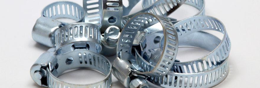Les diverses utilisations des colliers de serrage